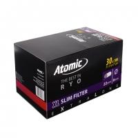 Блок фильтров для самокруток Atomic Slim Long 30x100 шт
