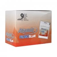 Блок фильтров для самокруток 6 мм Atomic 9x500 шт
