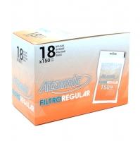 Блок фильтров для самокруток 8 мм Atomic 18х150 шт