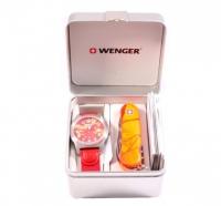 Набор Wenger: нож и часы 01.441.111