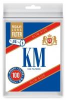 Фильтры для сигарет KM Slim Size Regular Long