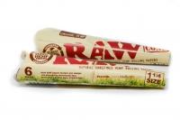 "Конусы RAW Organic 6PK 1¼"" Hemp"