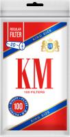 Фильтры для сигарет KM King Size Regular