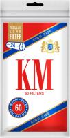 Фильтры для сигарет KM King Size Regular Long