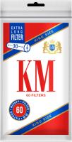 Фильтры для сигарет KM King Size Extra Long