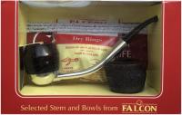 Подарочный набор Трубка Falcon с двумя чашами 356040
