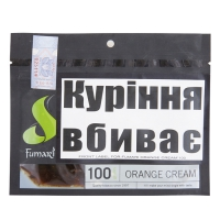 "ТАБАК FUMARI ORANGE CREAM""100"