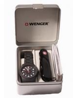 Набор Wenger: нож и часы 01.441.102