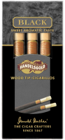 "Сигариллы Handelsgold Wood Tip-Cigarillos Black""5"