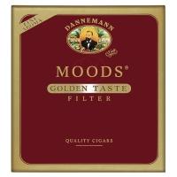 """Сигариллы Moods Golden Taste Filter""""10"""