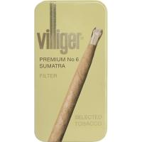 """Сигариллы Villiger Premium №6 Sumatra""""10"""