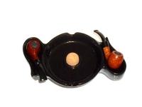 Пепельница для 2-х трубок 34122