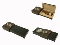 Хьюмидор для пяти сигар + пепельница Angelo 92021