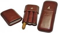 Футляр для трех сигар Angelo 81307