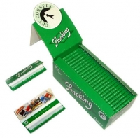 Сигаретная бумага Smoking №8 Green