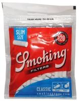 Фильтры для сигарет Smoking Slim Blue