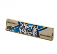 Бумага сигаретная Party in House King Size Slim Unbleached