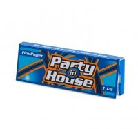 Бумага сигаретная Party in House 1 1/4 Blue