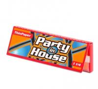 Бумага сигаретная Party in House 1 1/4 Red