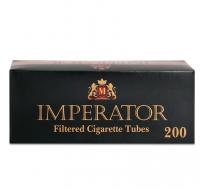 Гильзы для набивки сигарет Tubes IMPERATOR BLACK 200