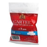 Фильтры сигаретные Tips CARTEL King Size 100