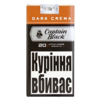 "Сигариллы Captain Black LC Dark Crema""20"