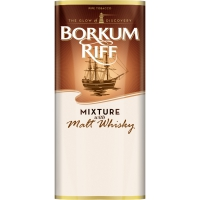 Трубочный табак Borkum Riff Mixture with Malt Whiskey