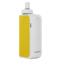 Электронна сигарета Joyetech eGo AIO BOX Kit White/Yellow (JTAIOBXWY)