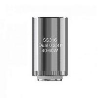 Испаритель Eleaf LYCHE SS316 Dual 0,25 Ом (ELYDSS316ULC025)