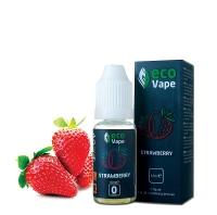Жидкость для электронных испарителей ECO Vape Strawberries 0 мг/мл