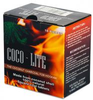 Уголь для кальяна COCO LITE кокосовый (0,25 кг)