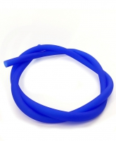 Силиконовый шланг для кальяна SOFT TOUCH Blue + Пружинка для силиконового шланга