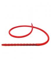 Шланг для кальяна силиконовый с металлической рукояткой Molla2 (красная рукоятка)