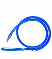 Шланг для кальяна - Метал-акрил синего цвета