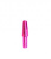 Коннектор для силиконового шланга - Метал (Pink)