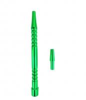 Рукоятка для силиконового шланга - Метал (Зелёный)