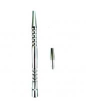 Рукоятка для силиконового шланга - Метал (Серебристый)