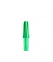 Коннектор для силиконового шланга - Метал (Green)