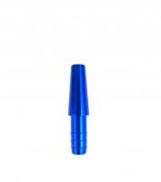 Коннектор для силиконового шланга - Метал (Blue)