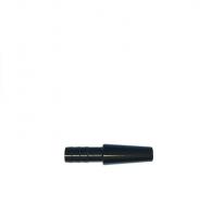 Коннектор для силиконового шланга - Метал (Black)