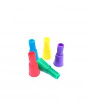 Мундштуки для кальяна - Конус2 цветной (100шт)