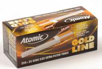 Гильзы для сигарет Atomic Gold Line (фильтр 24 мм)