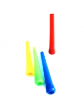 Мундштуки для кальяна - КИНГ цветные (50шт)