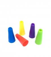 Мундштуки для кальяна - Конус1 цветной (100шт)