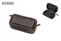 Сумка  для трех трубок коричневая 833060
