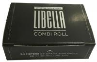 Бумага для самокруток Libella Combi Roll Extra Thin и Tips