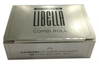 Бумага для самокруток Libella Combi Roll Super Thin и Tips