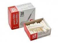 Фильтры трубочные Denicotea 10146 бумажные 36 шт.