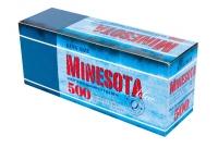 Гильзы для сигарет Minesota 500 Blue (белый фильтр)