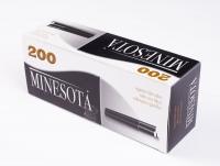 Гильзы для сигарет Minesota 200 Black Tubes